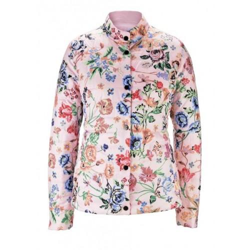 Obojstranná prešívaná krátka bunda HEINE, ružovo-farebná