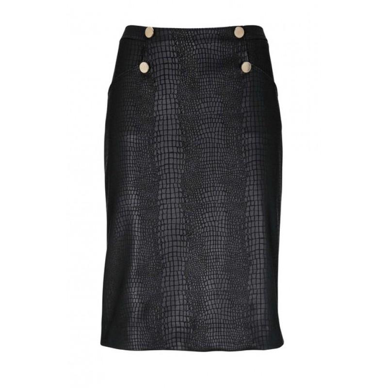 """Pencil"" sukňa Ashley Brooke, čierna"