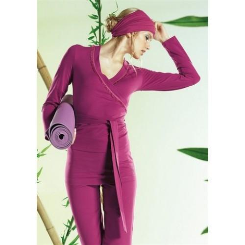 Dámske tričko na jogu APART - ružová - 38