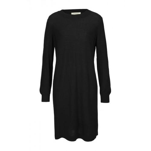 SELECTED Femme pletené šaty, čierne
