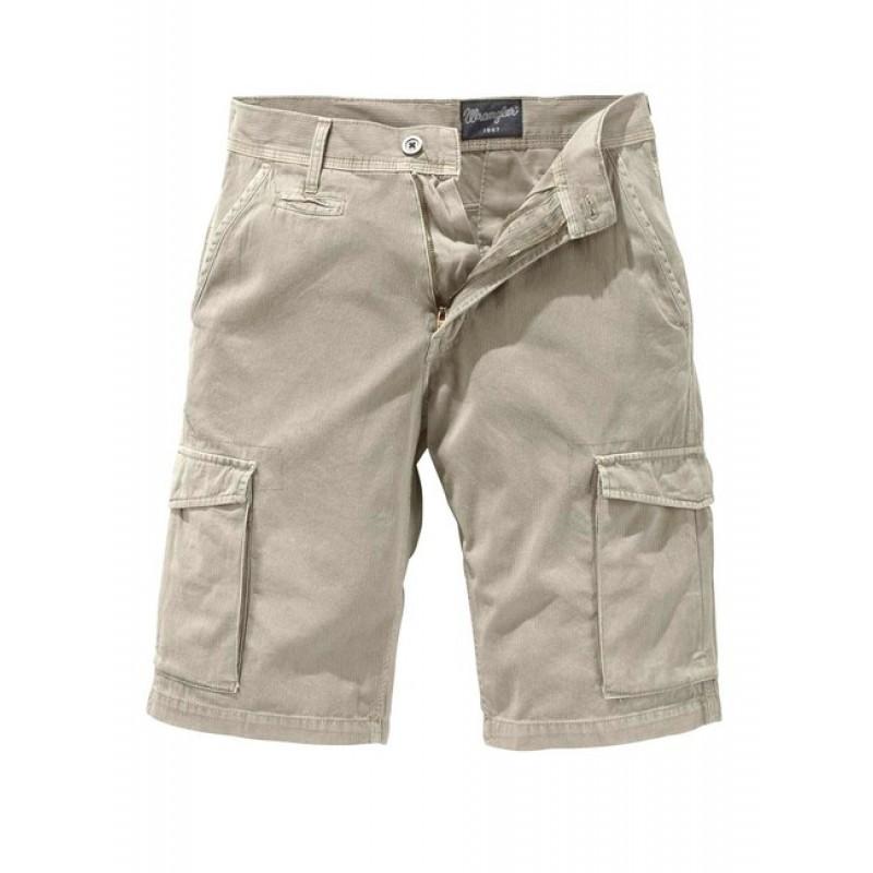 Pánske krátke nohavice WRANGLER, ťavia