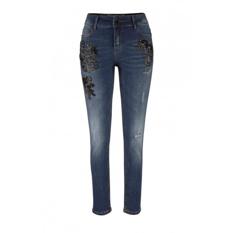Dámske džínsy DESIGUAL