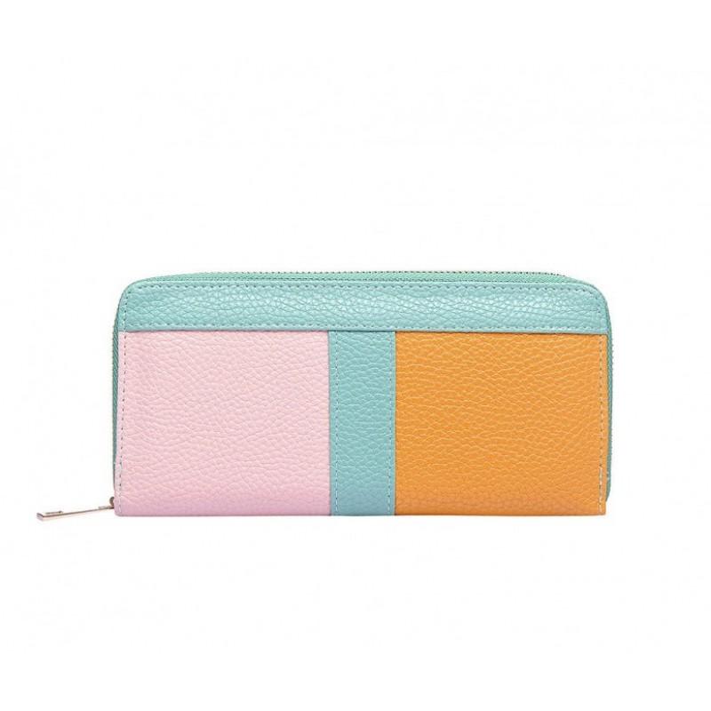 Farebná peňaženka na zips