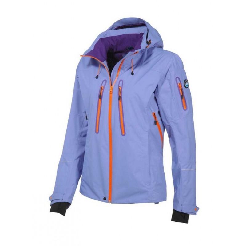Funkčná bunda Polarino flialovo-oranžová