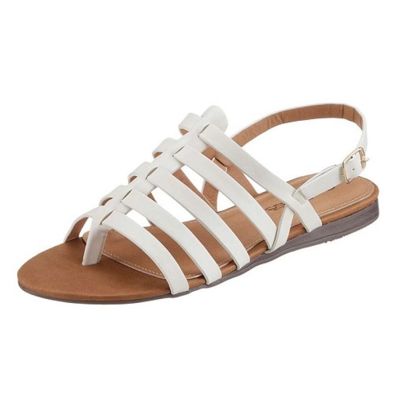Biele pohodlné sandále City Walk - biela - 36