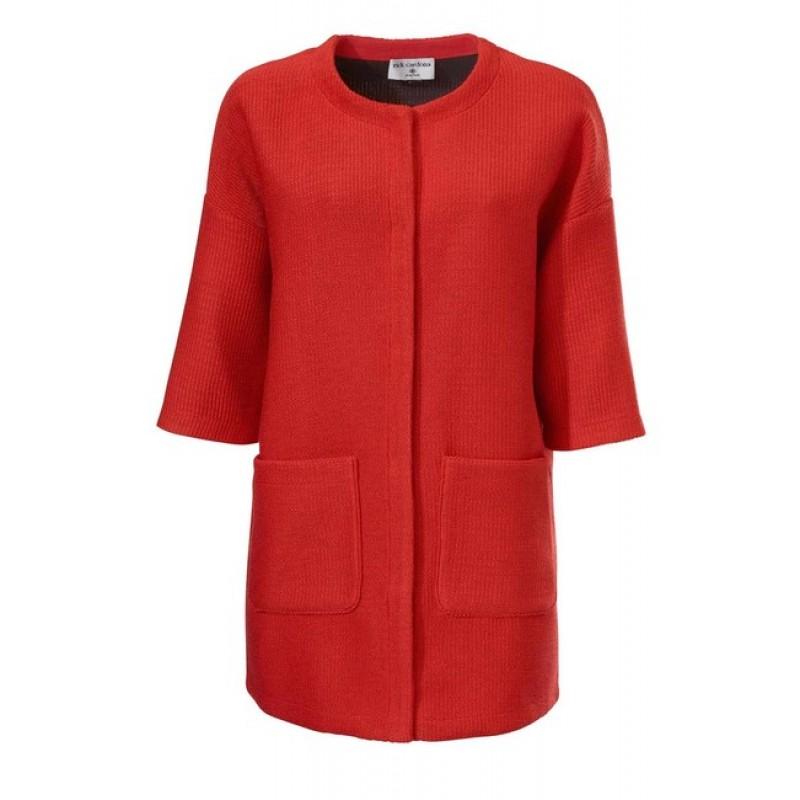 Červený kabátik Rick Cardona