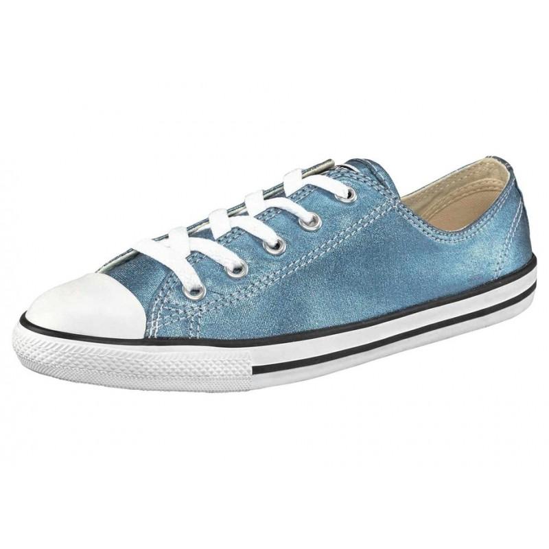 Tenisky Converse, modro-metalické