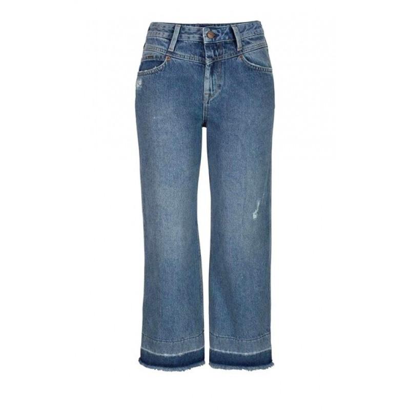 Culotte džínsy Pepe Jeans, modrá