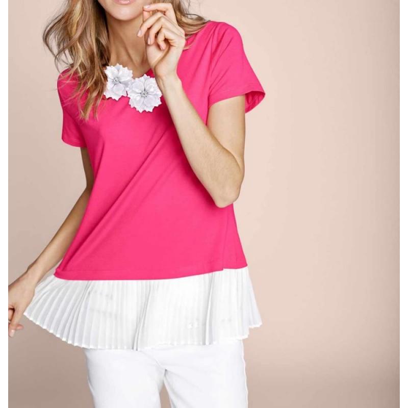 2-v-1 tričko Rick Cardona, ružová