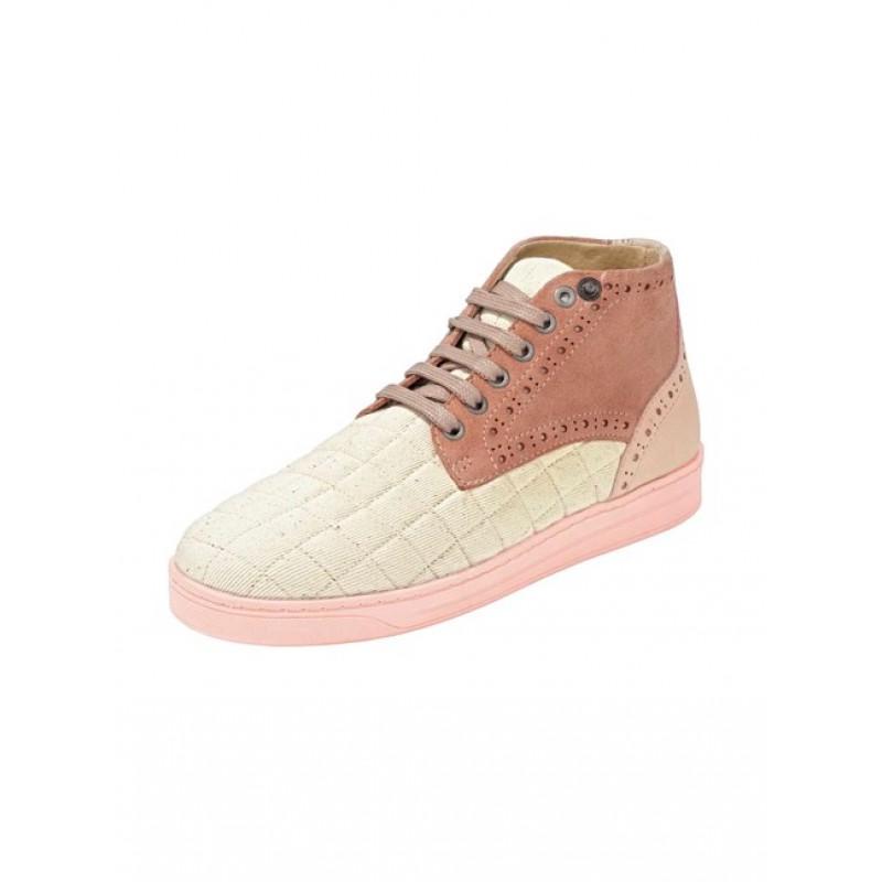 Teniskové kožené topánky Heine