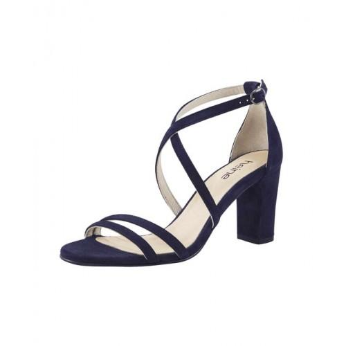 Heine semišové sandále, modré