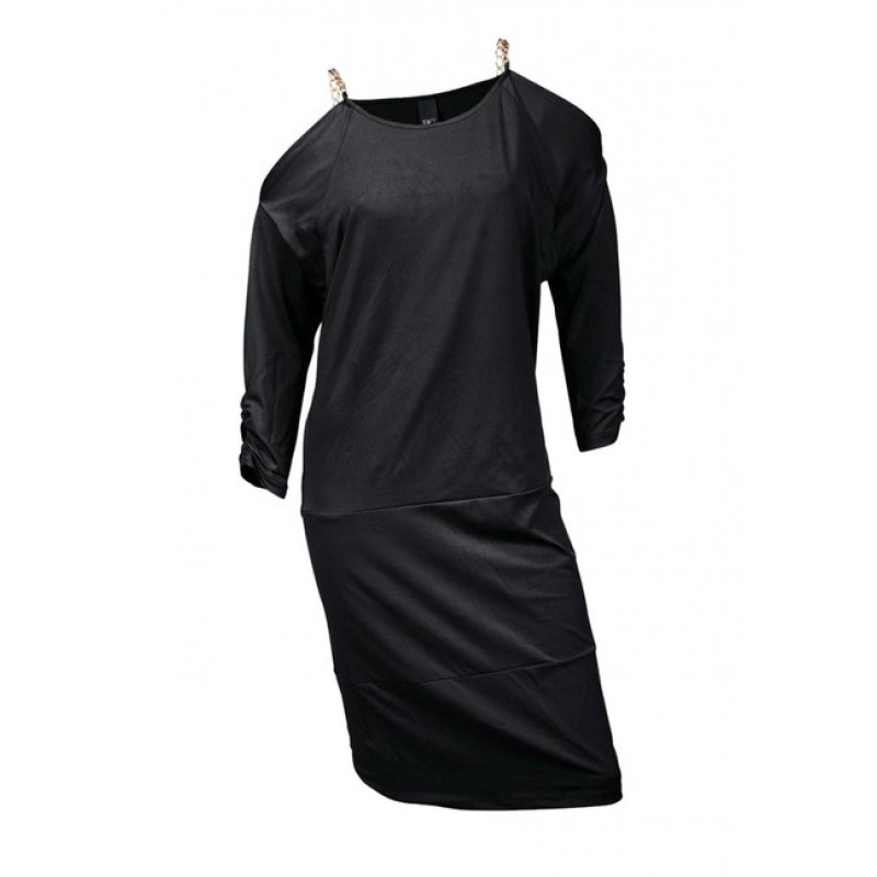 Čierne šaty s retiazkou, Heine - Best Connections