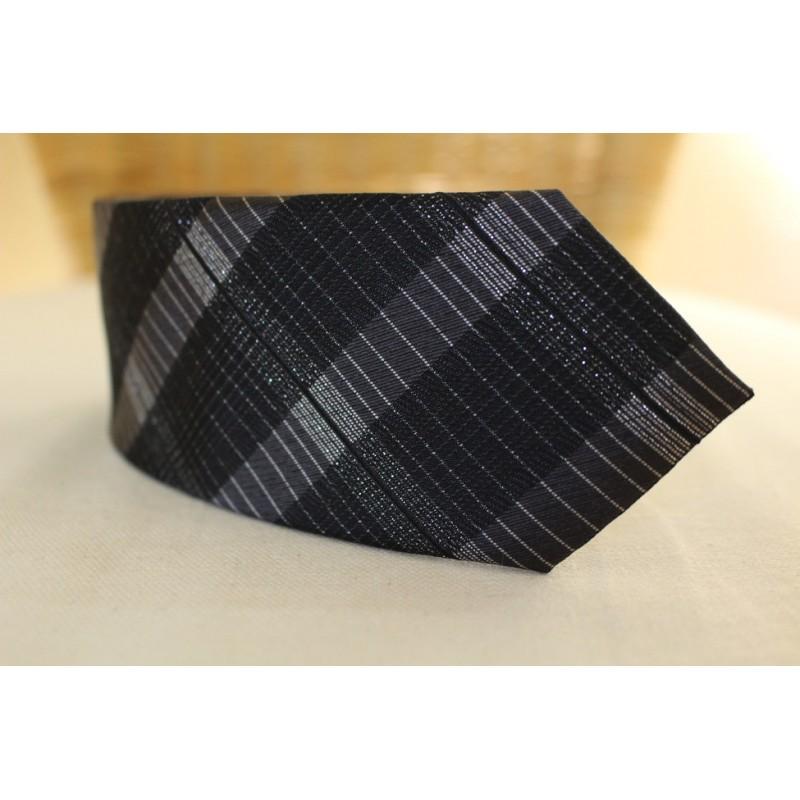 Pánska čierna kravata