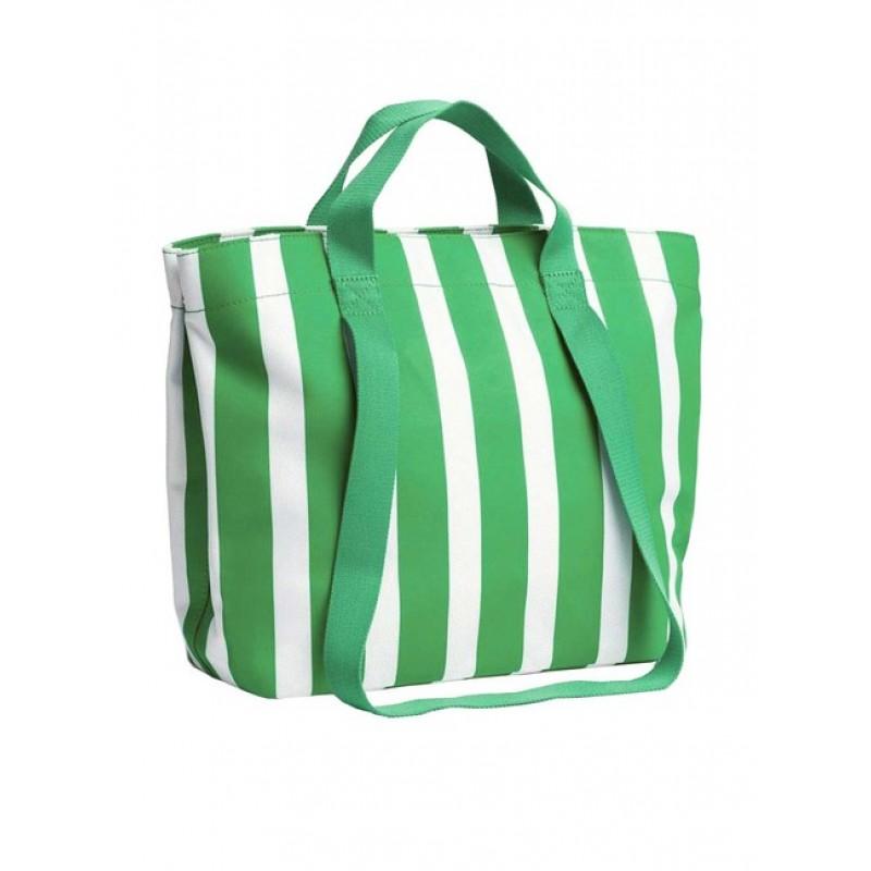 ESPRIT shopperka, bielo-zelená