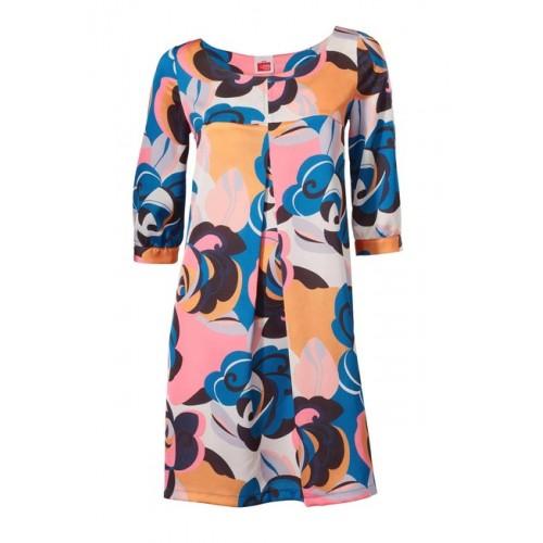Kvetované šaty do áčka Travel Couture - multikolor - 34