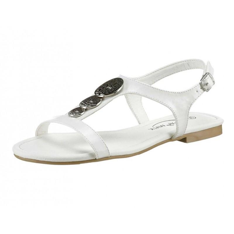 City Walk sandále , biela