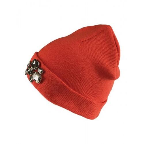 Tom Tailor Denim čiapka, oranžová