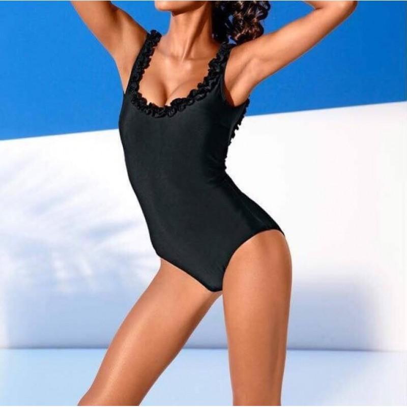Jednodielne čierne plavky Class International - čierna - 36/D