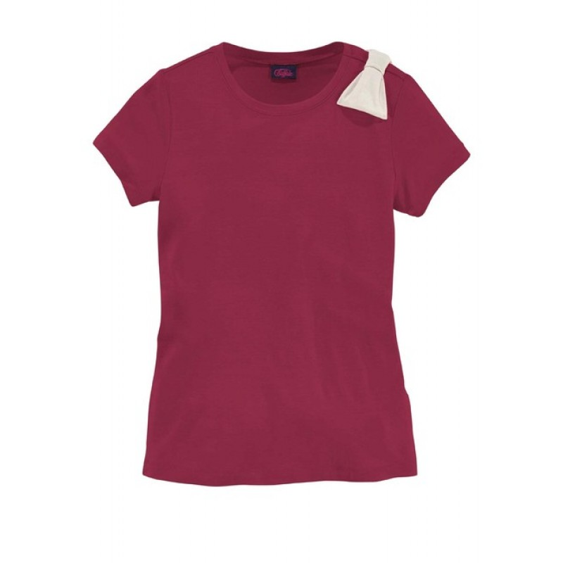 Dievčenské tričko BUFFALO, bordová