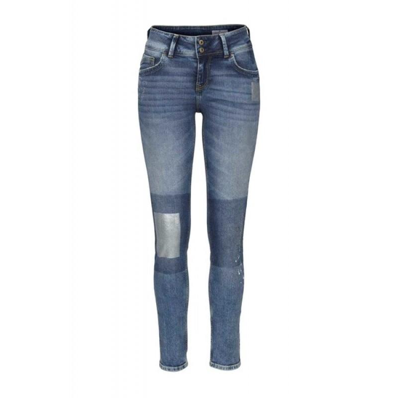Džínsy so striebornými prvkami, 30 inch