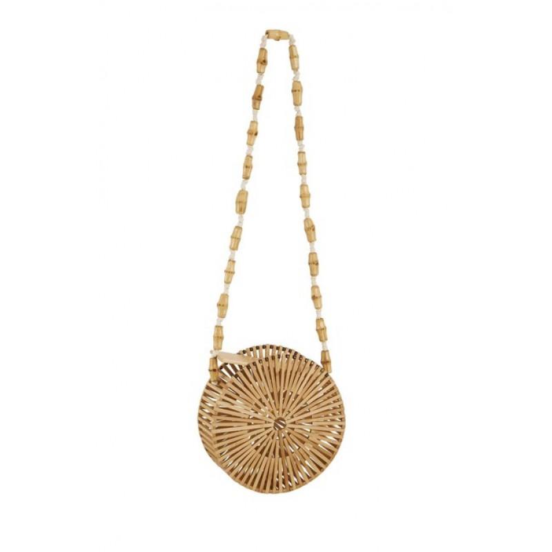 Bambusová kabelka HEINE, béžová