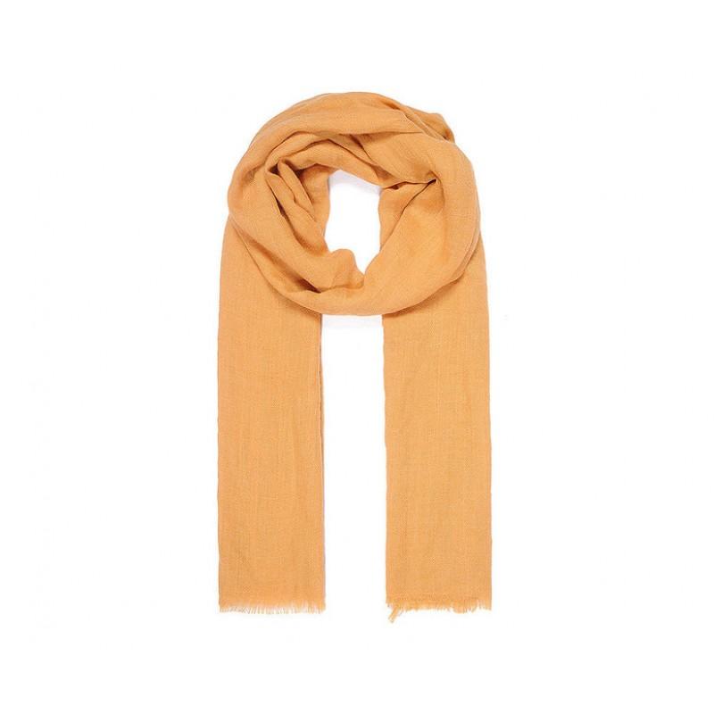 Jednofarebný šál, marhuľová