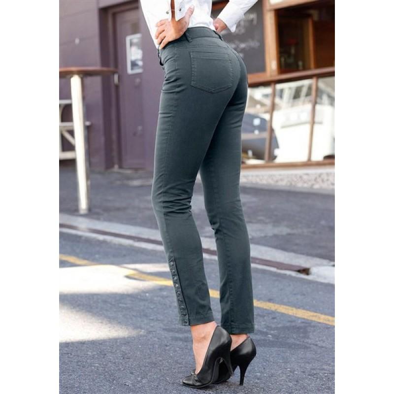 Dámske nohavice Vivien Caron - zelená - 34
