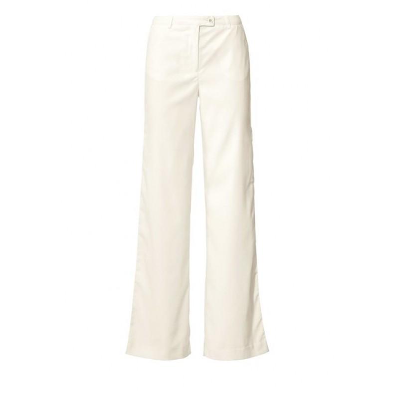 Široké nohavice Marlene, krémová