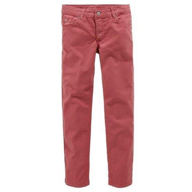 Strečové dievčenské džínsy CFL - oranžová - 152