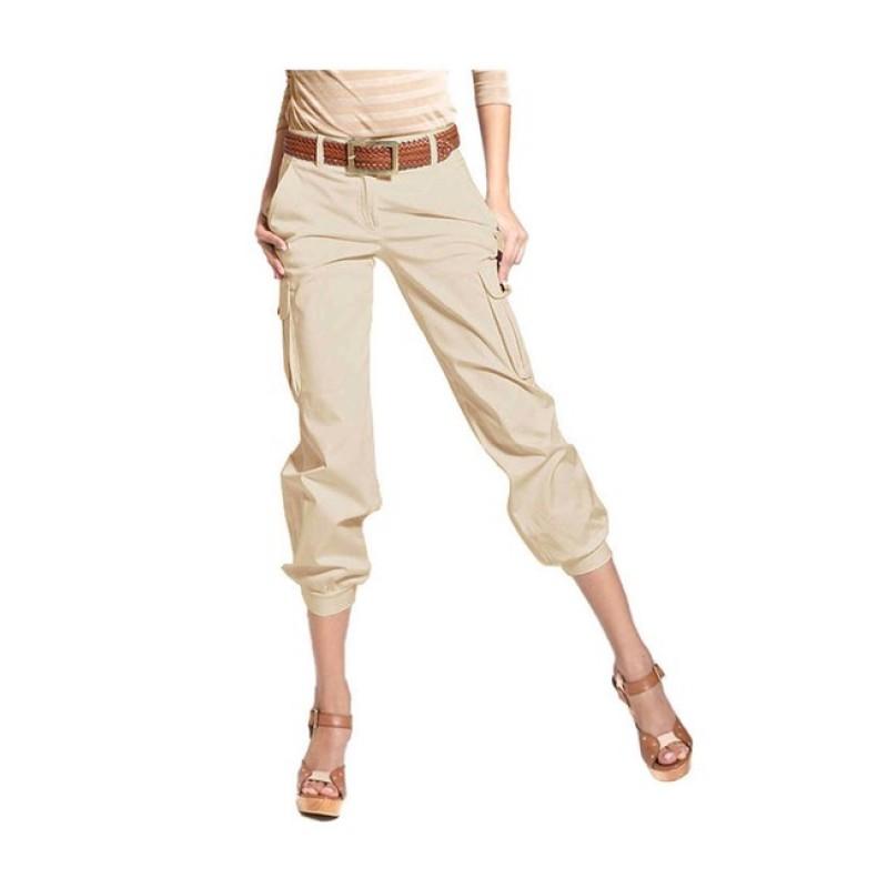 Béžové cargo nohavice APART