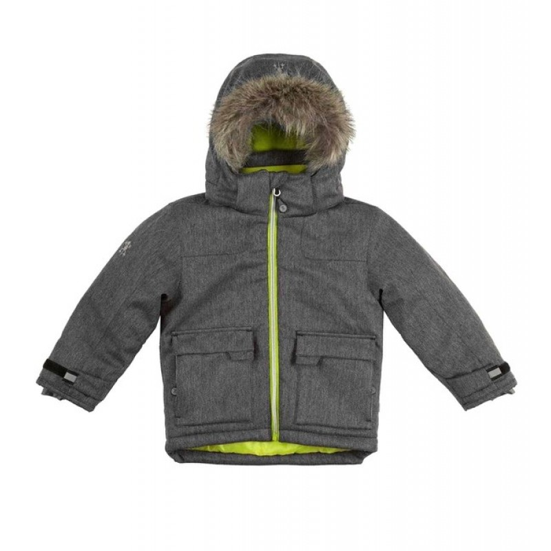 Detská zimná bunda XS Exes, šedá