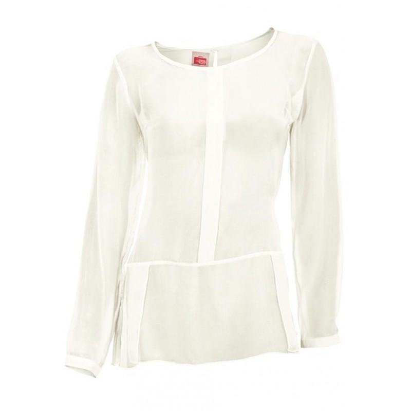 Šifónová blúzka travel Couture - biela - 40