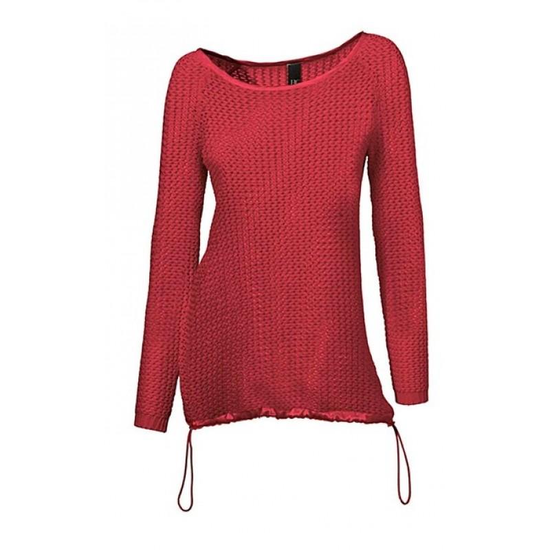 Padavý červený pulóver HEINE - B.C. - červená - 34