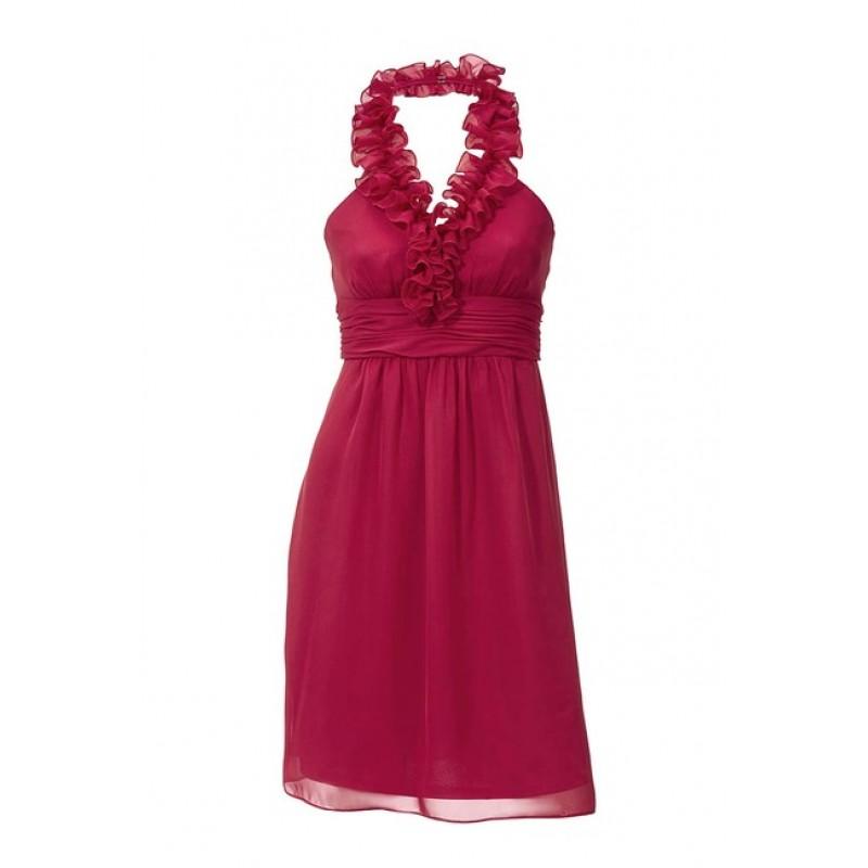 Červené kokteilové šaty Ashley Brooke event