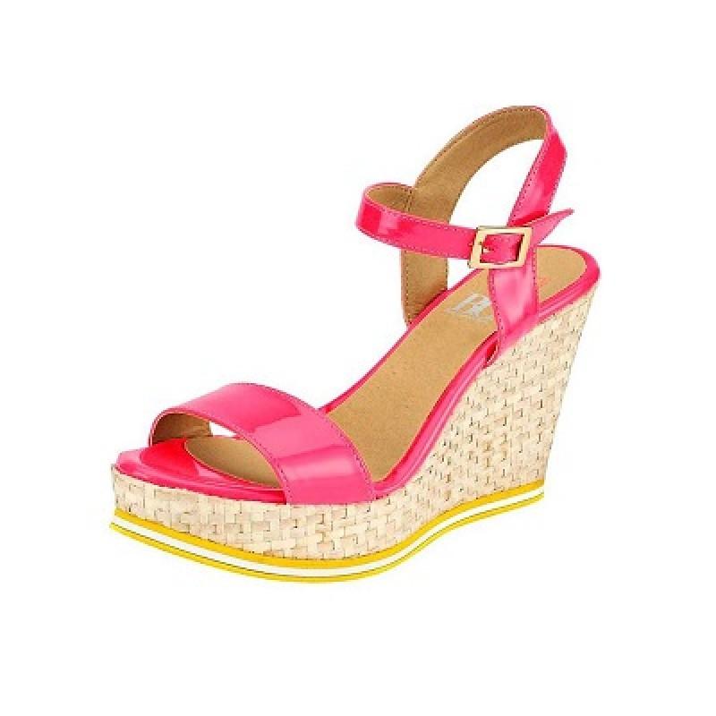 Dámske sandále na platforme HEINE