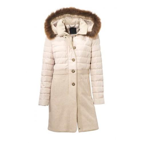 Ashley Brooke vlnený prešívaný kabát