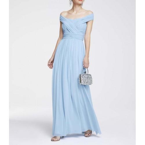 Variabilné večerné šaty Heine, svetlo modrá