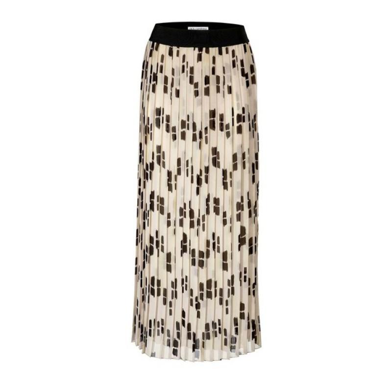 Dlhá plisovaná sukňa Rick Cardona, béžová