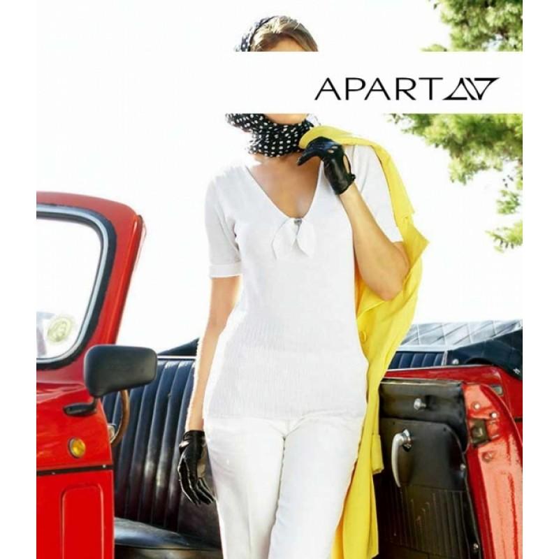 Biely pulóver APART - biela - 32