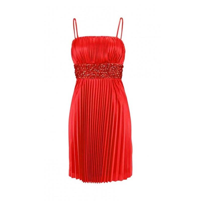 Červené spoločenské šaty Laura Scott
