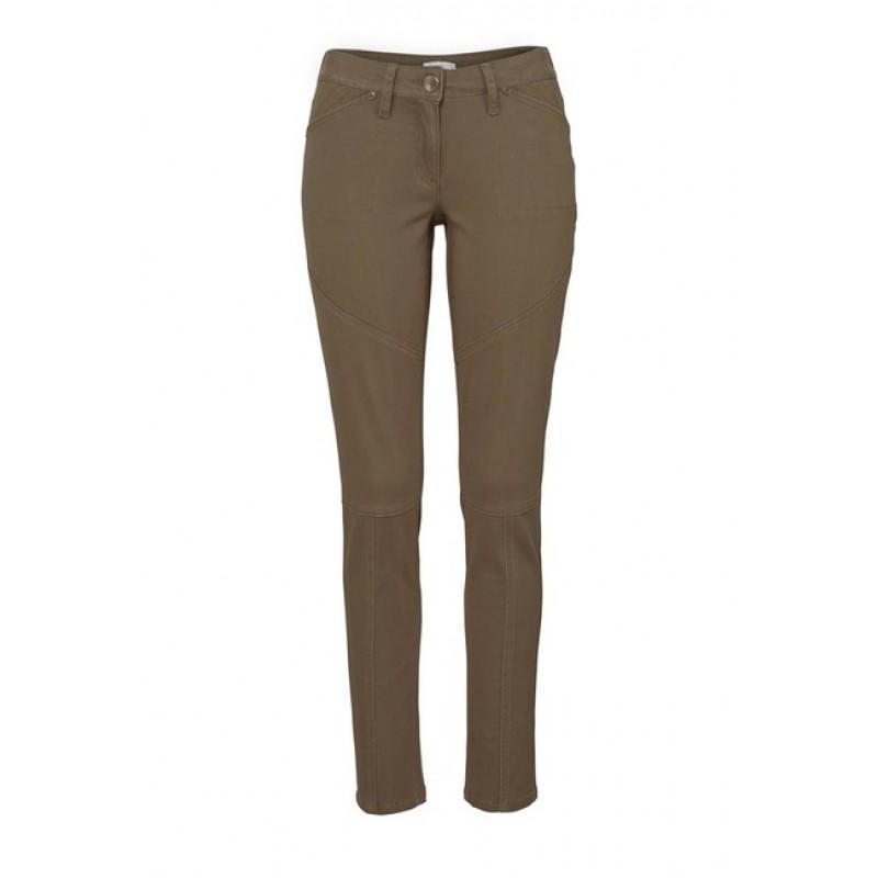 Pohodlné nohavice TAMARIS, hnedá