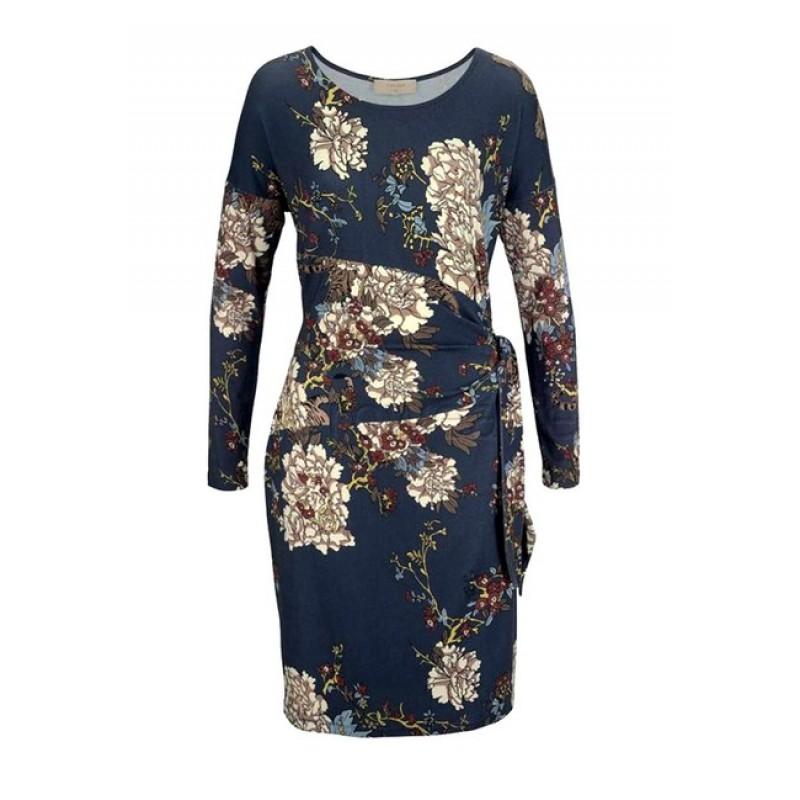 CREAM džersejové šaty s kvetinovou potlačou, farebné