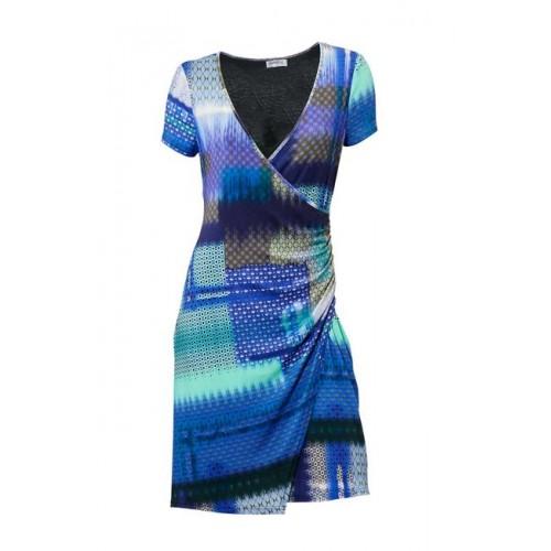 Príťažlivé modré šaty Class International
