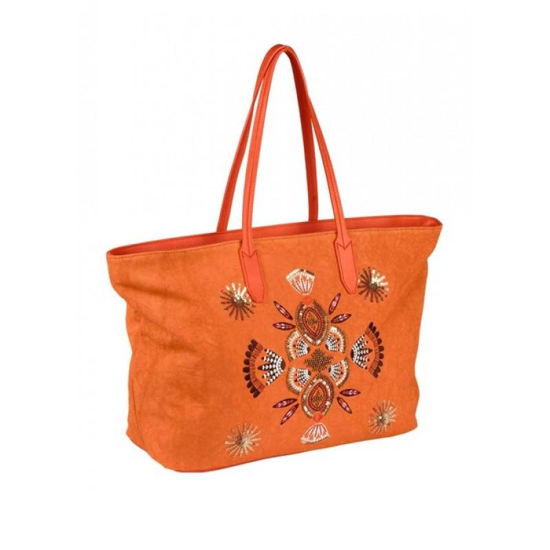 Letná shopperka HEINE, oranžová