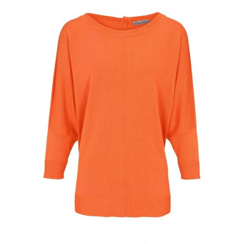 """""""Oversized"""" pulóver Ashley Brooke, oranžová"""