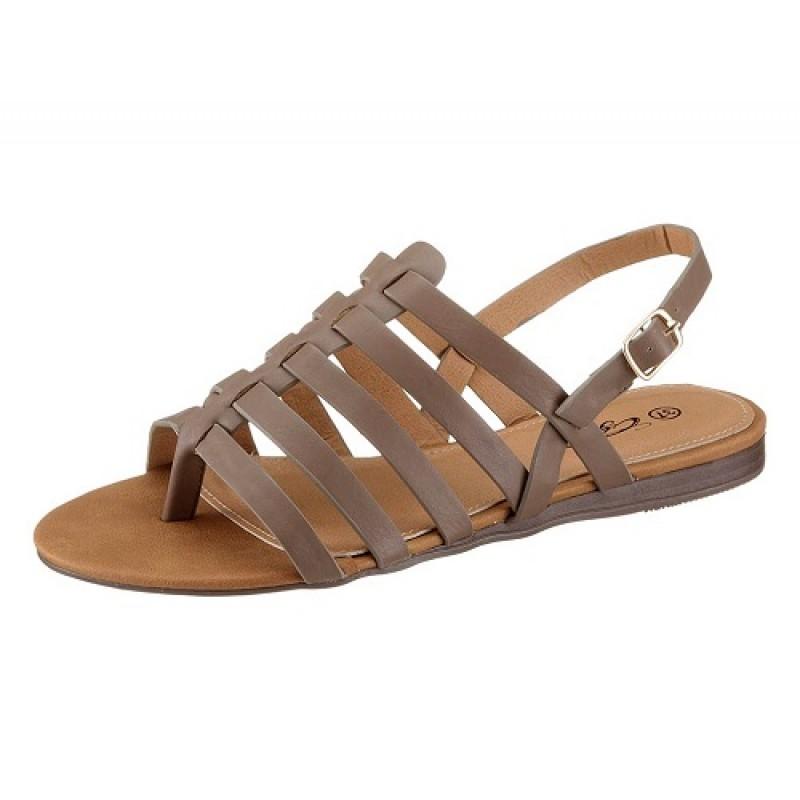 Sivobéžové sandále City Walk - sivobéžová - 36