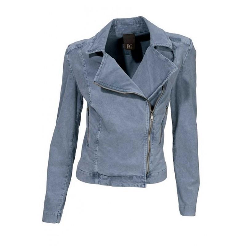 Menčestrové sako na zips HEINE - B.C. - modrá - 40