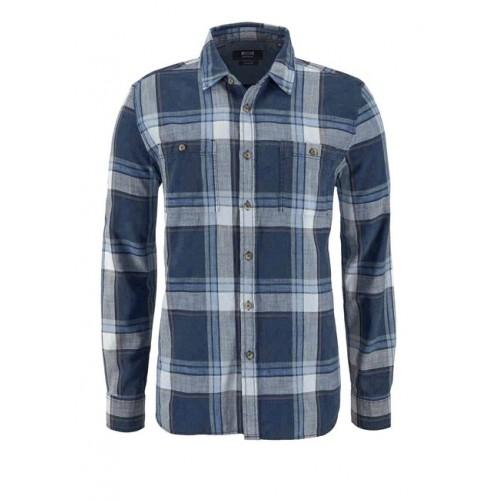 Pánska košeľa MUSTANG, modrá