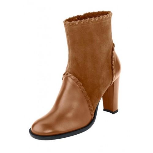 HEINE kotníkové topánky, koňak