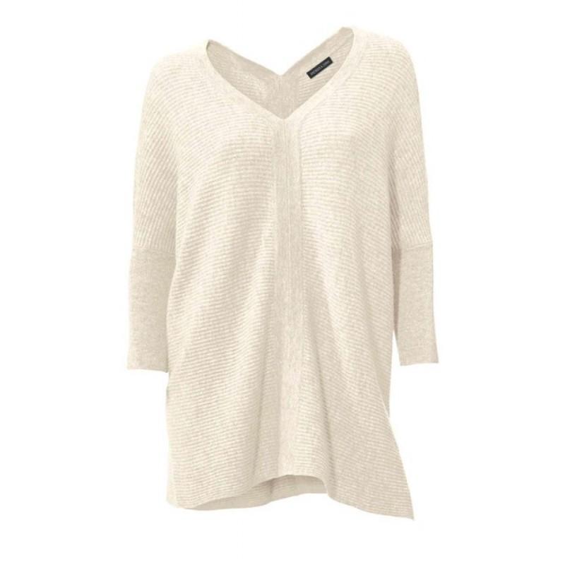 Kašmírový sveter, krémový PATRIZIA DINI - krémová - 34